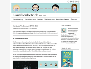 familienbetrieb.info screenshot