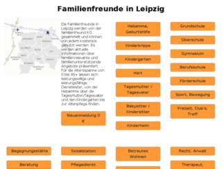 familienkatalog-leipzig.de screenshot