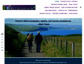 familiesgotravel.com screenshot