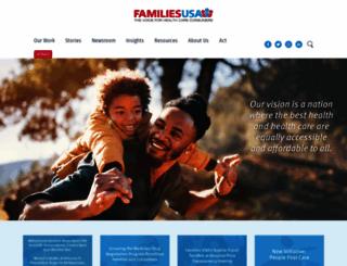 familiesusa.org screenshot