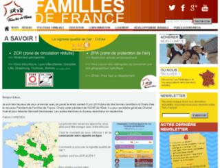 familles-de-france.fr screenshot