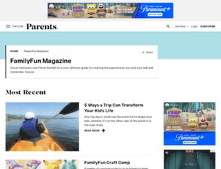 familyfunmag.com screenshot