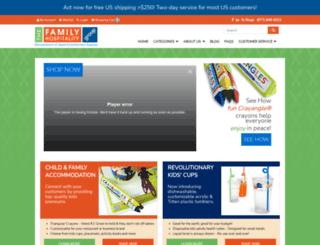 familyhospitality.com screenshot