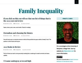 familyinequality.wordpress.com screenshot