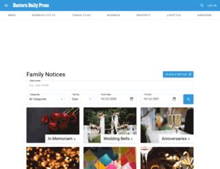 familynotices24.co.uk screenshot