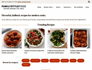 familystylefood.com screenshot