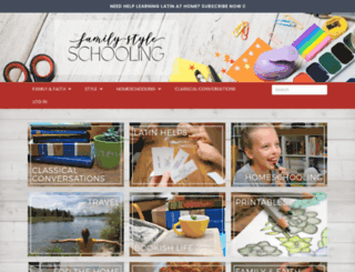 familystyleschooling.com screenshot