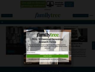 familytreemagazine.com screenshot