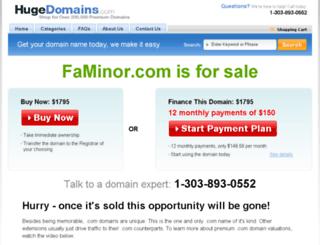 faminor.com screenshot