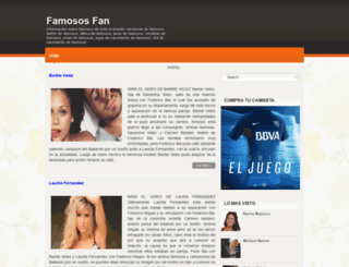 famososfan.blogspot.com.ar screenshot