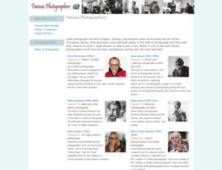 famous-photographers.com screenshot