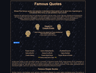 famousquotes.me.uk screenshot