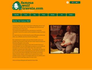 famouswolftravels.com screenshot