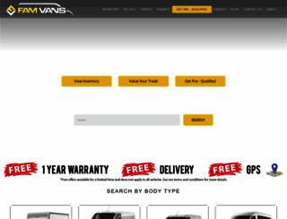 famvans.com screenshot