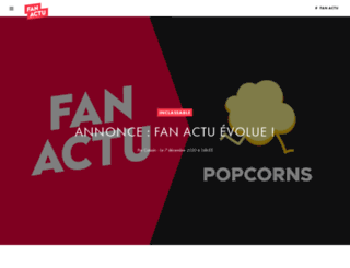 fanactu.com screenshot