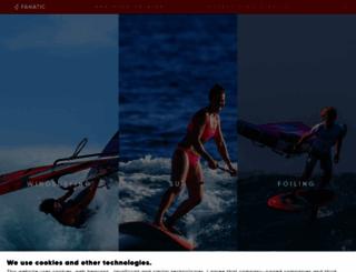 fanatic.com screenshot
