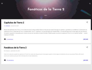 fanaticos-tierra2.blogspot.com screenshot