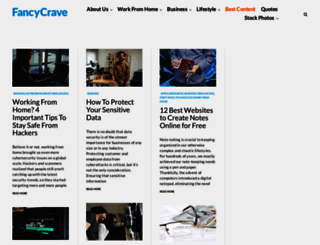 fancycrave.com screenshot