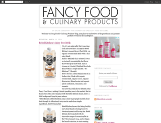 fancyfoodmagazine.blogspot.com screenshot