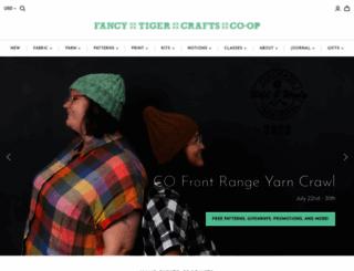 fancytigercrafts.com screenshot