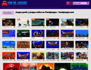 fandejuegos.com screenshot