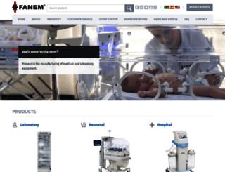 fanem.com.br screenshot