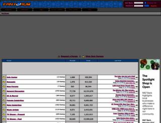fanforum.com screenshot