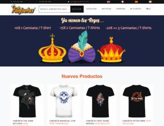 fanisetas.com screenshot