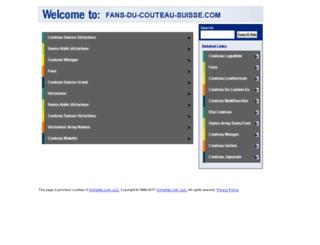 fans-du-couteau-suisse.com screenshot