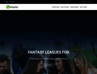 fantasizr.com screenshot