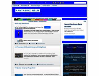 fantasticblue.net screenshot