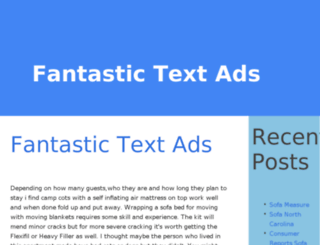 fantastictextads.info screenshot