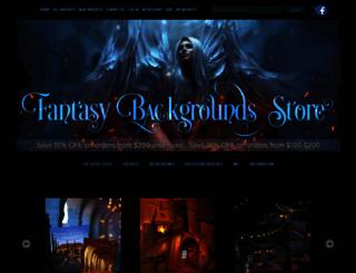 fantasybackgroundsstore.com screenshot