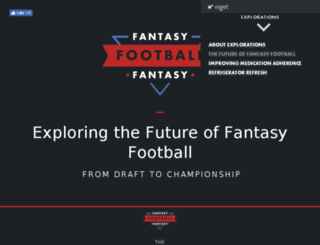 fantasyfootball.viget.com screenshot