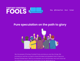 fantasyfootballfools.com screenshot