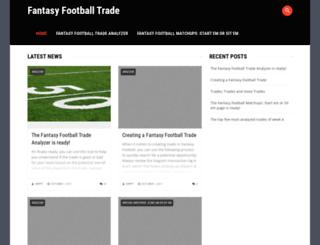 fantasyfootballtrade.com screenshot