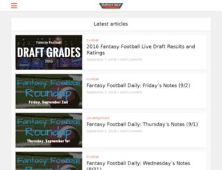fantasyhelp.com screenshot