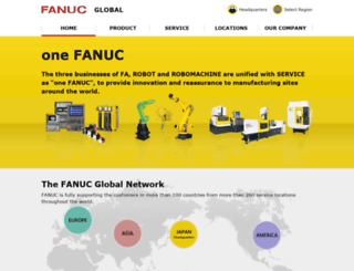 fanuc.com screenshot