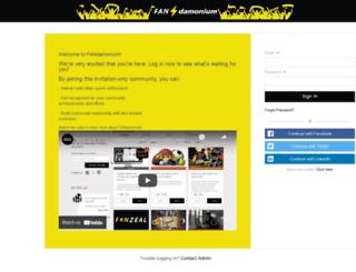 fanzeal.com screenshot