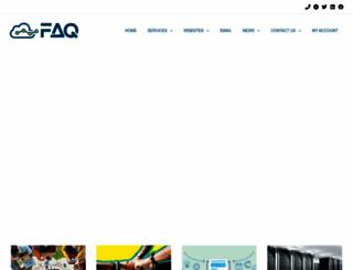faq.co.za screenshot