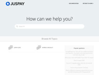 faq.juspay.in screenshot