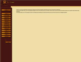 faq.renaissancekingdoms.com screenshot