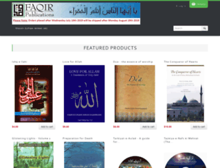 faqirpublications.com screenshot