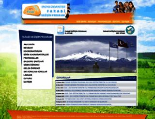 farabi.erciyes.edu.tr screenshot