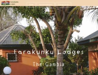 farakunku-lodges.com screenshot