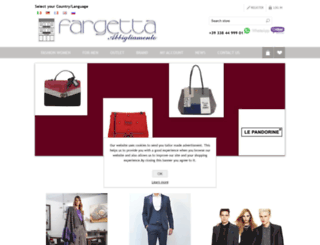 fargettabbigliamento.com screenshot