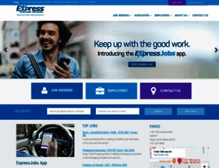fargond.expresspros.com screenshot