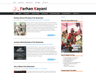 farhankayani.blogspot.com screenshot