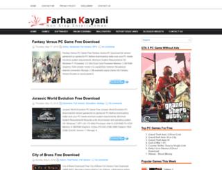 farhankayani.com screenshot