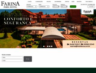 farinaparkhotel.com.br screenshot